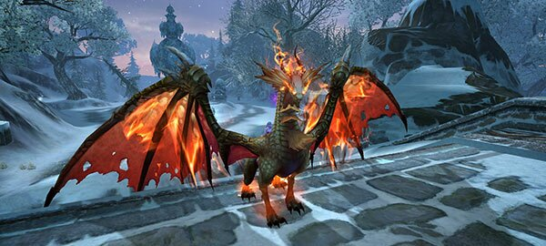 Conflagration Dragon Mount