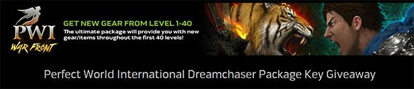 Dreamchaser giveaway